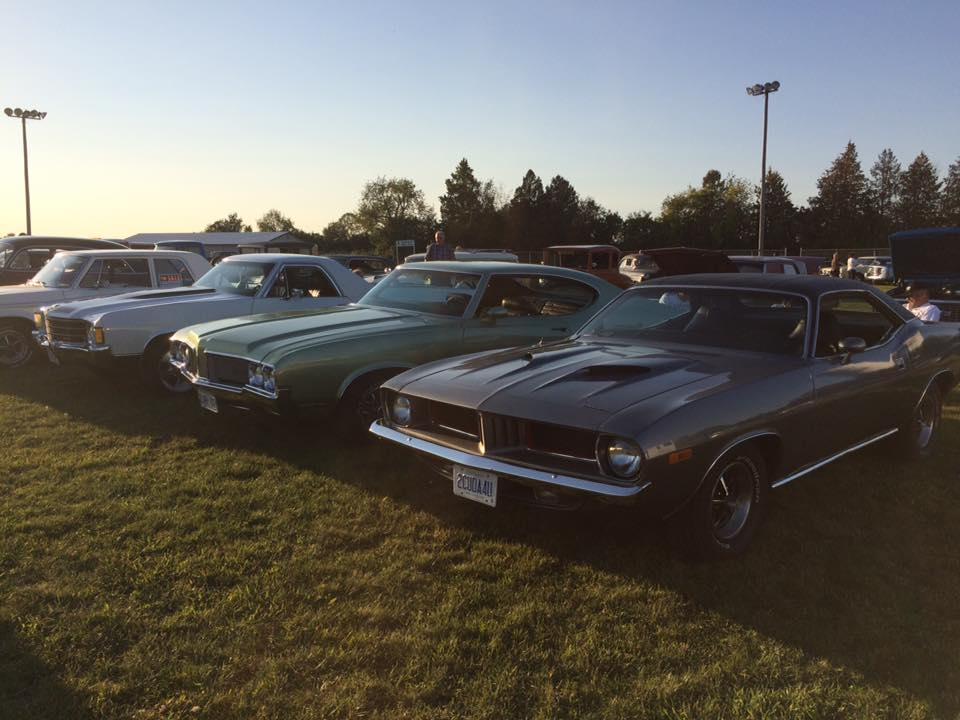 Classic Car Show at the Sunderland Fall Fair